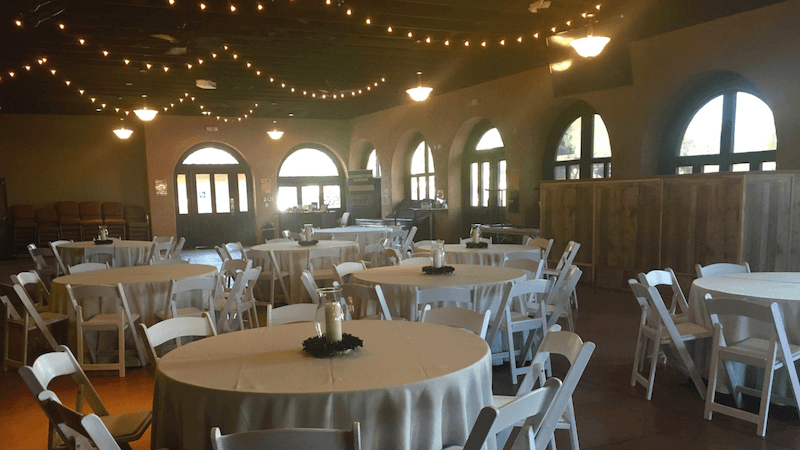 North Valley Garden Indoor Wedding Phoenix