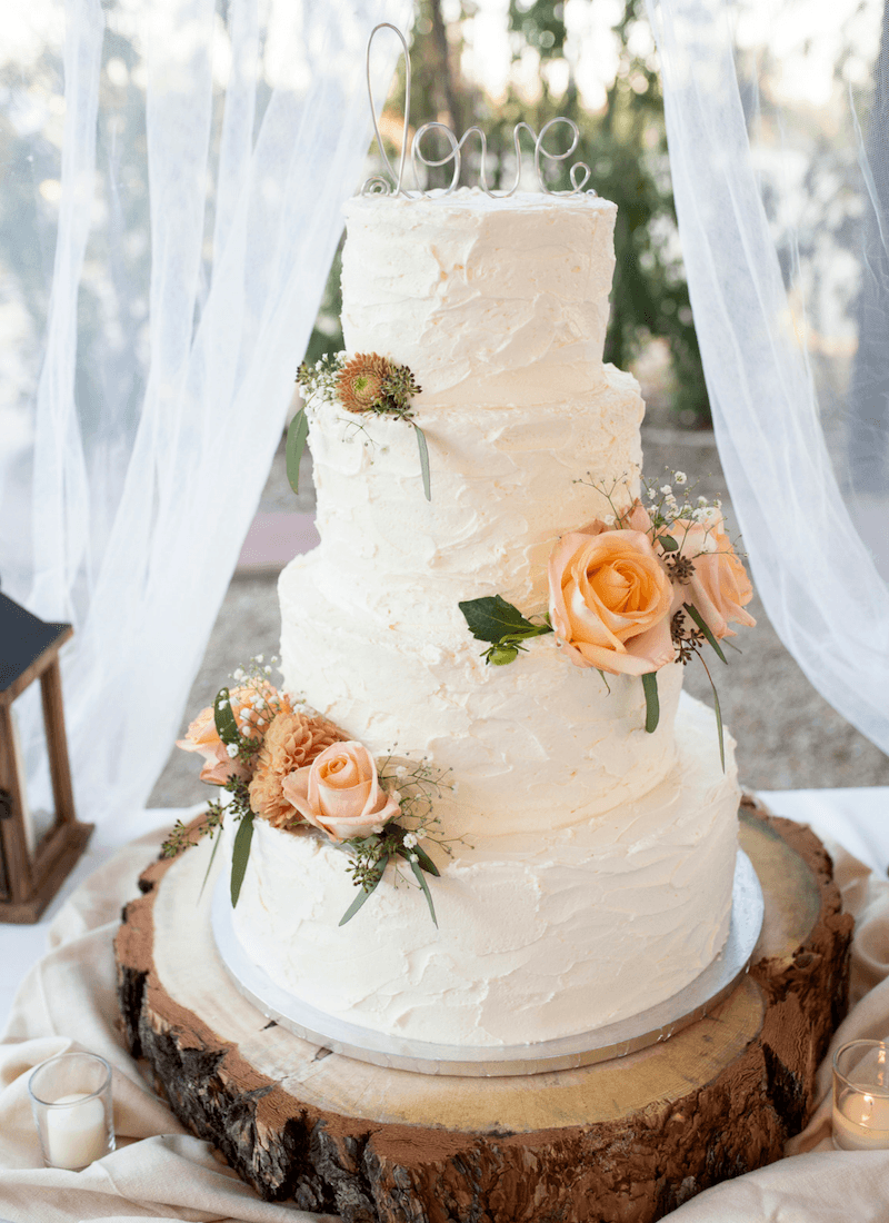North Valley Garden Weddings Cake Phoenix
